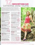 12 indiscrétions sur Catherine-Anne Toupin